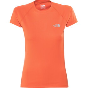 The North Face Flex Maglietta a maniche corte Donna arancione